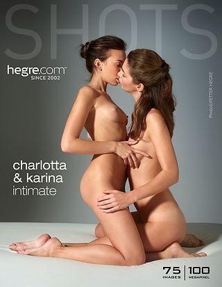 Charlotta and Karina intimate