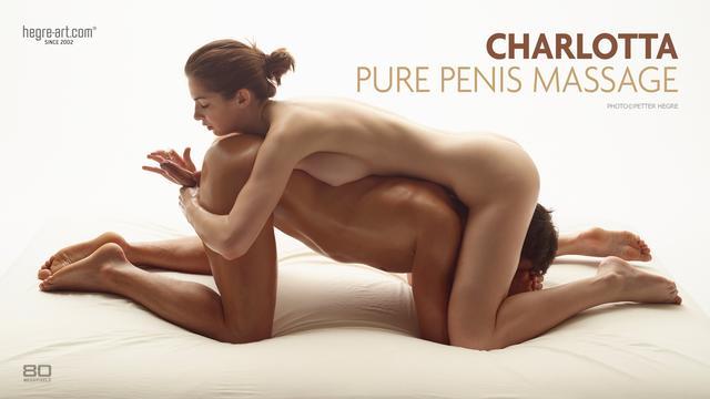 Charlotta pure penis massage