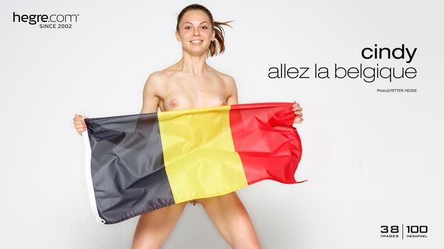 Cindy allez la Belgique