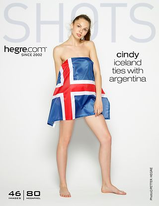Cindy Iceland ties with Argentina