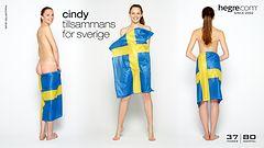 Cindy tillsammans för Sverige