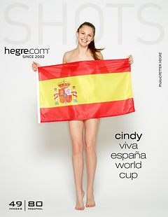 Cindy viva Espana World Cup