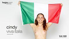 Cindy viva Italia