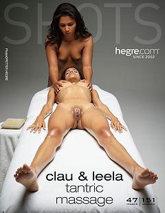 Clau and Leela tantric massage