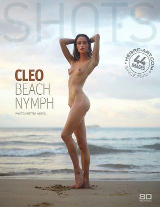 Cleo nymphe de plage