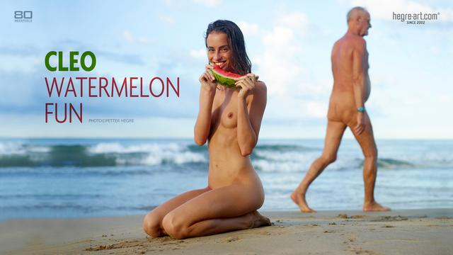 Cleo Watermelon fun