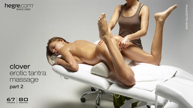 Clover erotic tantra massage part2