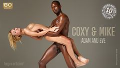 Coxy and Mike Adam and Eve