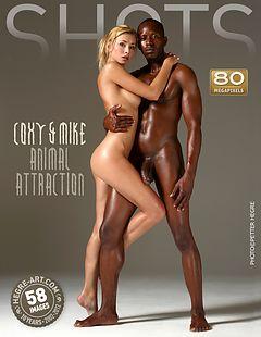 Coxy y Mike atracción animal