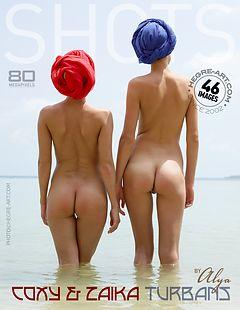 Coxy and Zaika turbans by Alya