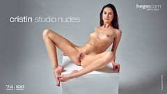 Cristin studio nudes