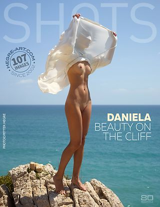 Daniela beauty on the cliff