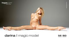 Darina L magic model