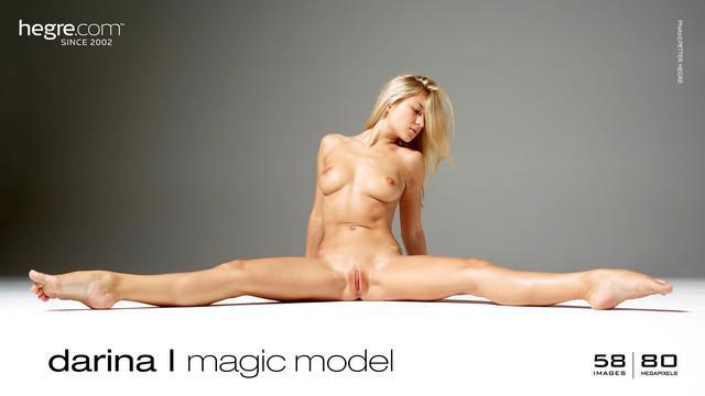 Darina L magic model