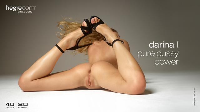 Darina L Pure Pussy-Power