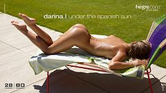 Darina L under the Spanish sun