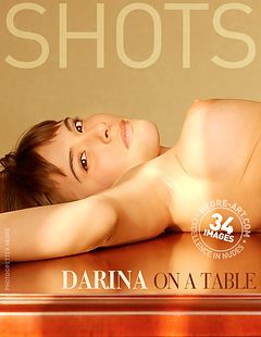 Darina on a table