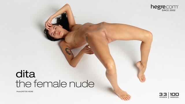 Dita the female nude