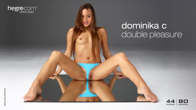 Dominika C double pleasure