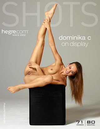 Dominika C on display