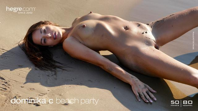 Dominika C public beach