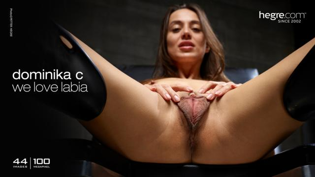 Dominika C we love labia