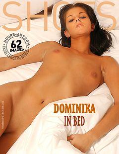 Dominika in bed