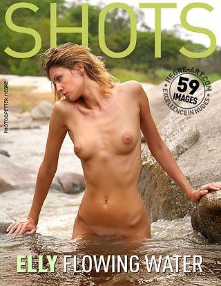 Elly flowing water