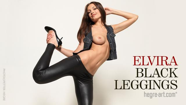 Elvira black leggings