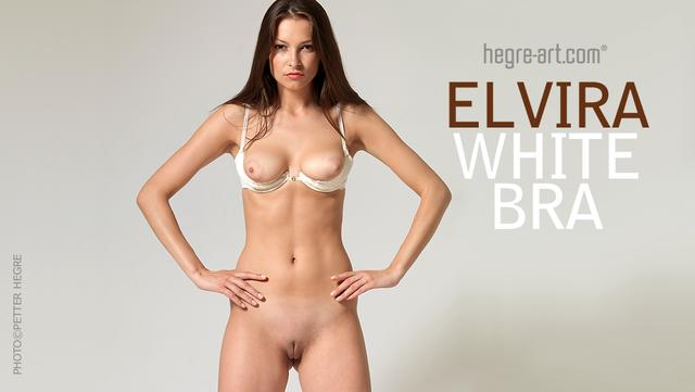 Elvira white bra