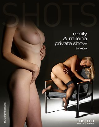 Emily and Milena private show by Alya