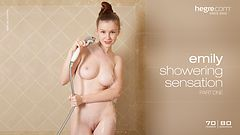 Emily showering sensation part1
