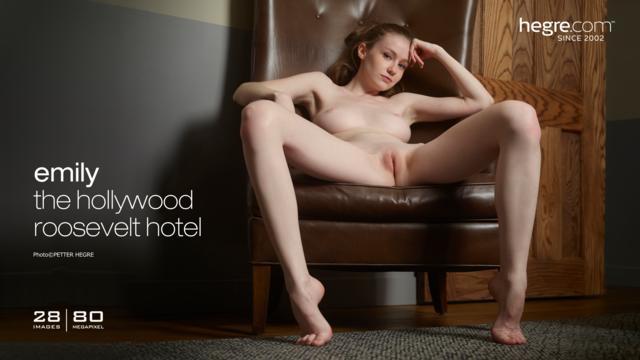 Emily the Hollywood Roosevelt Hotel