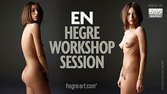 En Hegre workshop session