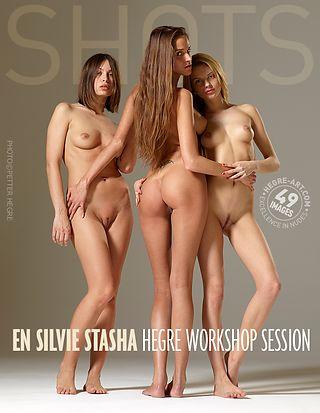 エン、シルビー、ターシャ、ワークショップセッション