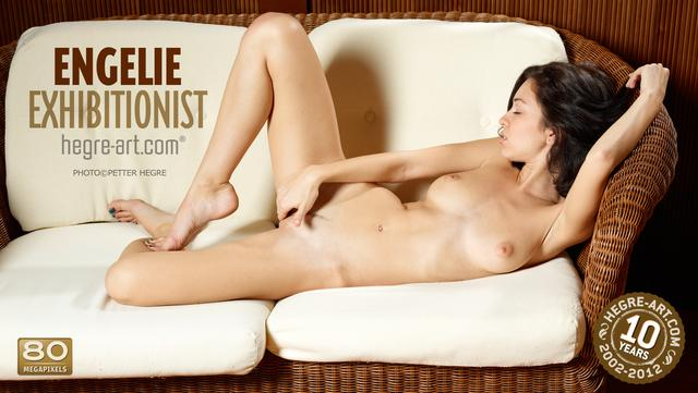 Engelie exhibitionist