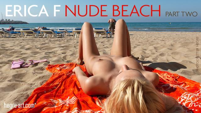 Erica F nude beach part 2
