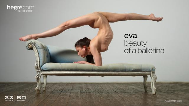Eva beauty of a ballerina