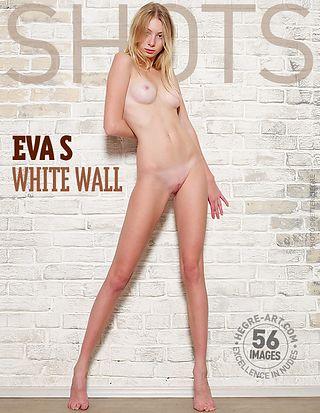 Eva S. white wall
