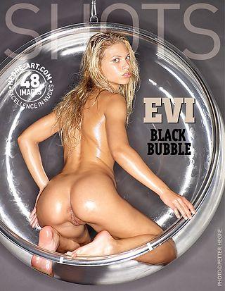 Evi black bubble