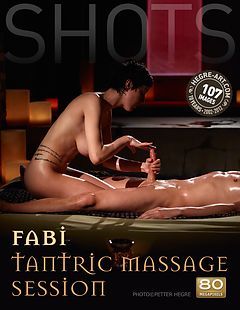 Fabi tantric massage session