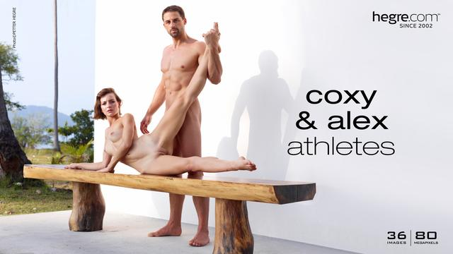 Flora and Alex athletes