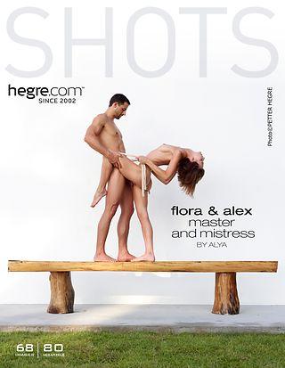 Flora et Alex maitre et maitresse par Alya
