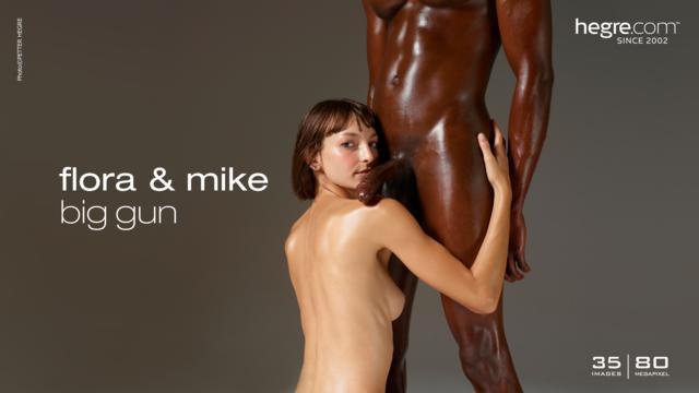 Flora and Mike big gun