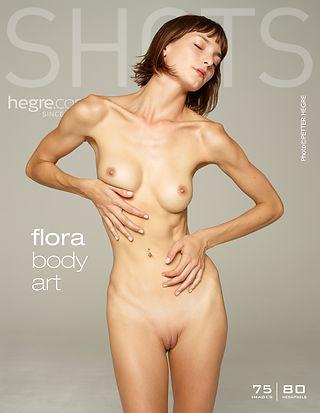 Flora art corporel