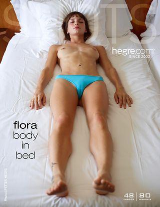 Flora corps au lit