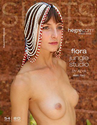 Flora jungle studio par Alya partie 2