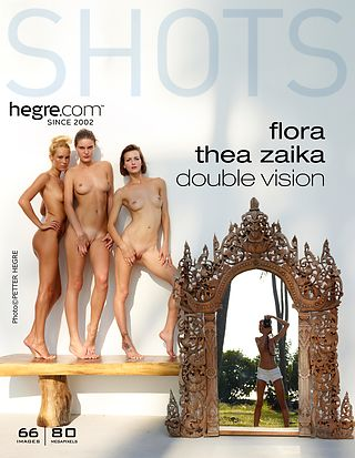 Flora Thea Zaika double vision by Alya