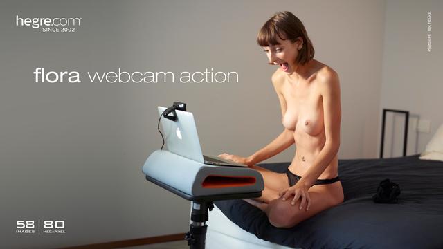 Flora webcam action