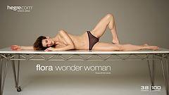 Flora wonder woman